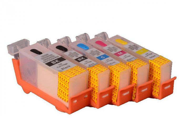 PGI 650 CLI 651 PGI 750CLI  Canon Replacement Ink Cartridges With Black / Yellow