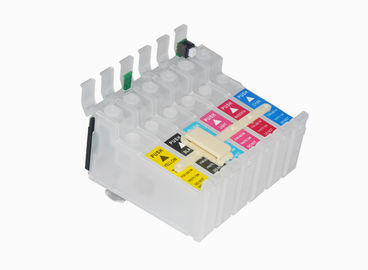 China Empty Refillable Ink Cartridges , Epson T0851N Refill Cartridges Recycling supplier