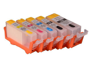 China PGI 650 CLI 651 PGI 750CLI  Canon Replacement Ink Cartridges With Black / Yellow supplier