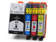 China HP Compatible Printer Ink Cartridges , Cyan / Yellow Ink Print Cartridges factory