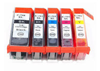 China Generic Canon MG5670 MG6470 Computer Ink Cartridge PGI - 750 CLI - 751 Refilling factory