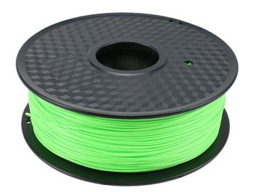 China Cyan PLA 3D Printer Filament , 1.75mm Polyethylene 3d Printer Filament Refill distributor