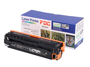 China Recycle Toner Laser Cartridge 1600 Pages Yeild Hp Printers CF210A Compatibility factory