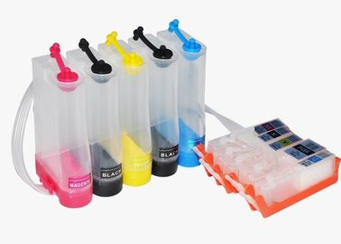 China 5 Colors Continuous Ink Supply System , Canon 451 Ink Cartridges 16ml / 25ml Volume distributor