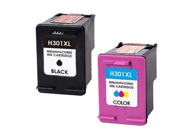 China Black / Color HP301 Reconditioned Printer Cartridges For Deskjet 1050A Refill distributor