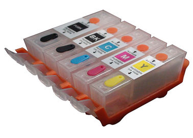 China Canon Refillable Ink Cartridges MG5120 MG5520 , PGI - 225 Empty Ink Cartridges distributor